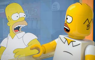 First Look: The Simpsons Team Up With LEGO For An Epic Episode Like No Other