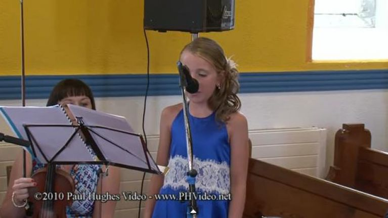 Video Hallelujah The Performance From A Ten Year Old Girl That