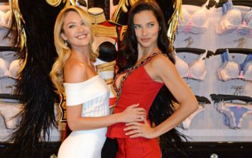 Victoria's Secret Angels Spread Their Wings For Show In London