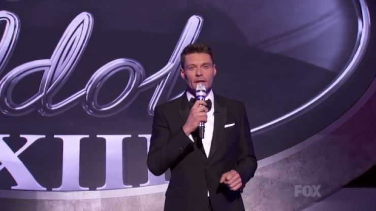 WATCH: Ryan Seacrest Takes to The Stage And Sings For The First Time on American Idol