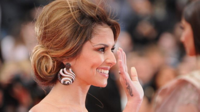 How Low Can You Go? Cheryl Cole Hits Cannes Red Carpet in Very Risqué Gown