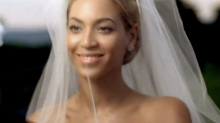 Jay Z And Beyonce Reveal Clip From Their Wedding Video On