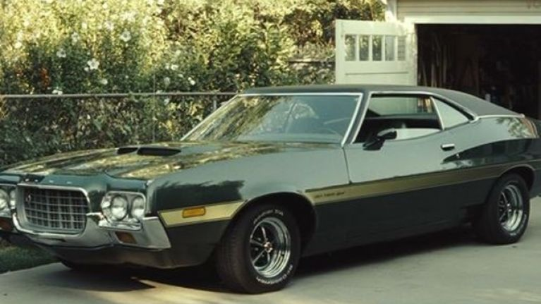 famous cars of the big screen the ford gran torino. Black Bedroom Furniture Sets. Home Design Ideas