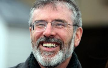 Gerry Adams Talking About Trampolining Naked With His Dog Needs To Be Heard To Be Believed