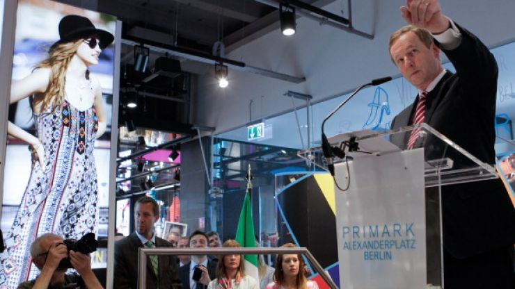 Pic Of The Day: Nothing To See Here... Only Enda Kenny Opening A Penneys In Germany