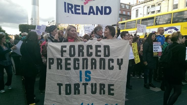 GALLERY: Huge Turnout For 'Repeal The 8th' Protest In Dublin