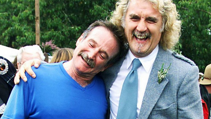 """""""He Told Me He Loved Me - He Was Saying Goodbye"""" Billy Connolly on The Death of Robin Williams"""
