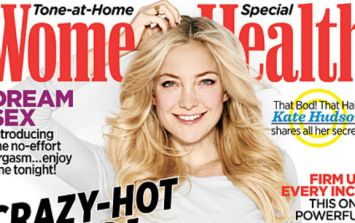 PIC: Kate Hudson Is Ab Fab On Cover Of Women's Health