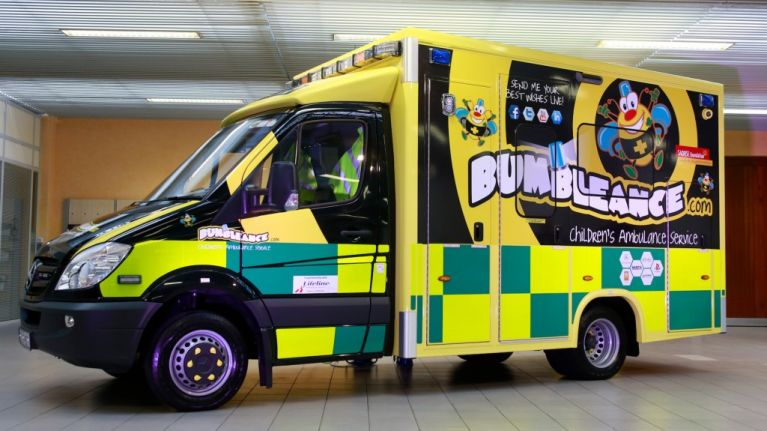 Support the Bumbleance! Donate Your Old Phones to Enter a Draw for a New  Mercedes Benz