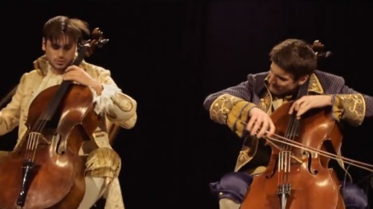 "VIDEO: This Awesome Cello Cover of AC/DC's ""Thunderstruck"" is Mind-Blowing"