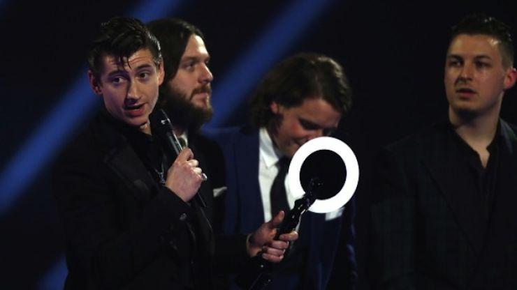 VIDEO: Arctic Monkeys Singer Slammed For 'Drunk' Acceptance Speech