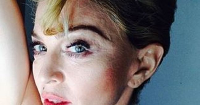 """Long Hair... Don't Care"": Madonna Goes Natural On Instagram"