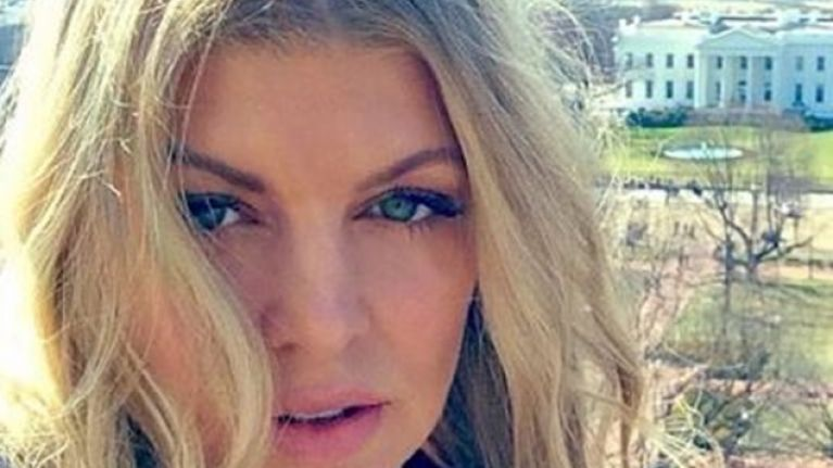 Picture Fergie Shares Snap Of Birthday Cake From Her Boys Her