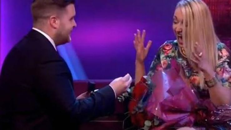Man Proposes to Girlfriend Live on Ant & Dec's Saturday Night Takeaway