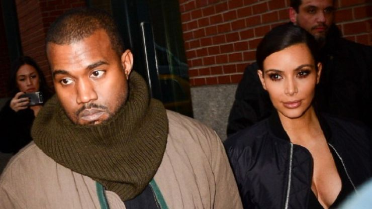 PICTURES: Kim And Kanye Spotted Coming Out Of Cinema In Co Offaly