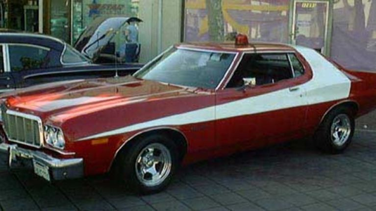 famous cars of the big screen 1975 76 ford gran torino. Black Bedroom Furniture Sets. Home Design Ideas