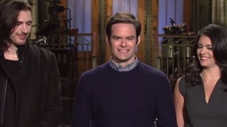 WATCH: Hozier Joins Bill Hader In Saturday Night Live Promo