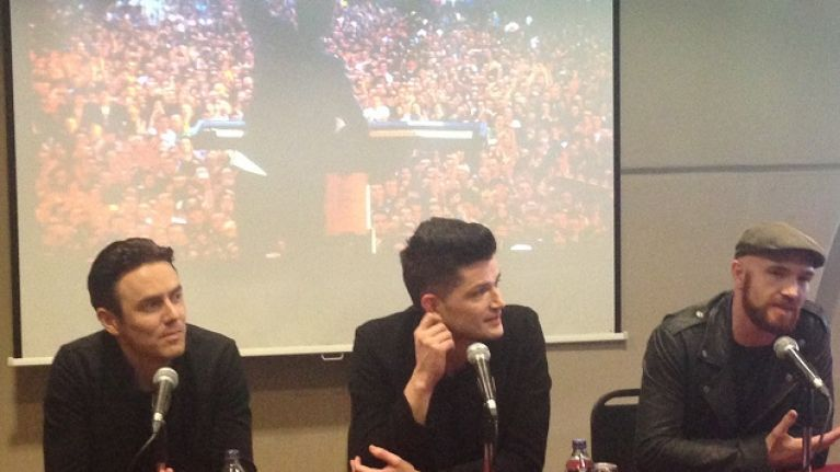 VIDEO: Her.ie Chats To The Script Ahead Of Their Croke Park Gig This June