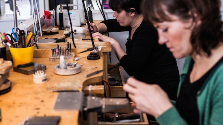 Irish Women in Business: Jewellery Designer Ann Chapman of Stonechat Jewellers