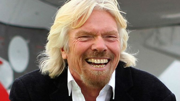 don t try shaking richard branson s hand if you ever meet him