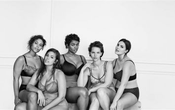 #ImNoAngel - Lingerie Campaign Featuring Full-Figured Women Goes Viral