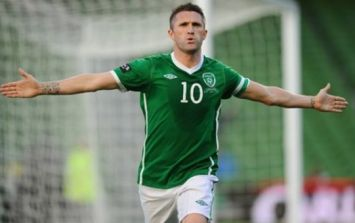 PIC: Someone has created a Robbie Keane portrait using tea lights and it's glorious