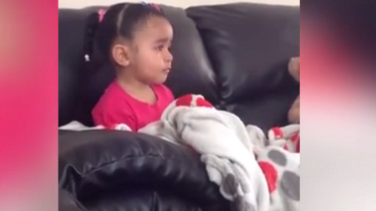 This Little Girl's Reaction To Watching 'The Lion King' Will Break Your Heart