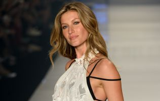 Gisele has finally shared a photo of her wedding dress - nine years after getting married