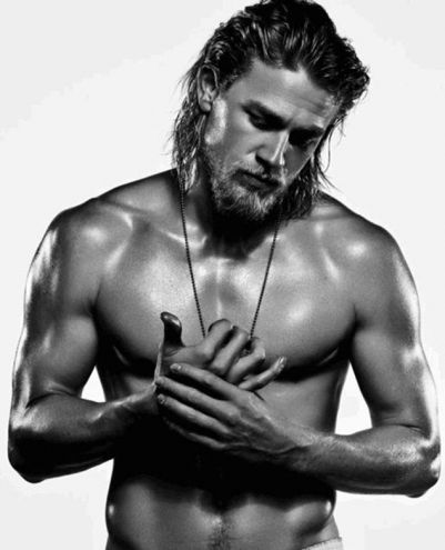 Long hair. Don't care. Take us now, Mr Hunnam.
