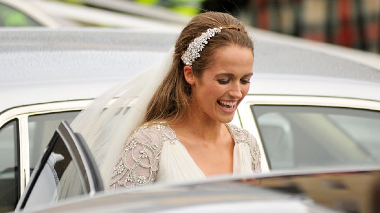 1bff2d38817e Fan Of Kim Sears' Wedding Dress? Here's All The Details | Her.ie