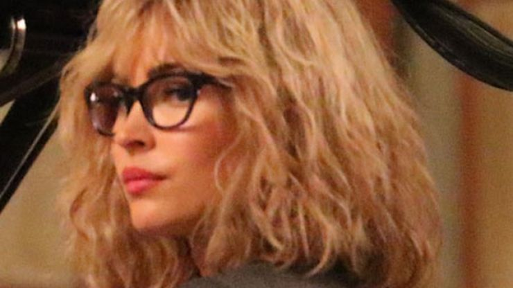 Megan Fox Is Barely Recognisable On The Set Of Her New Film