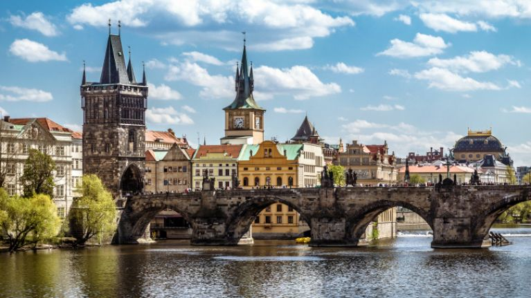 Prague has been named the best place in the world for a hen party
