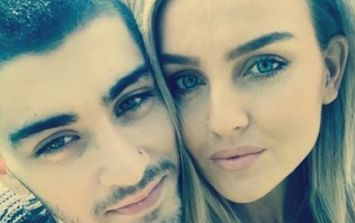 Perrie Edwards has told of the very harsh way Zayn Malik ended their relationship