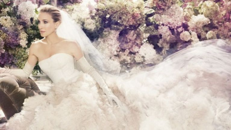 Gallery Sarah Jessica Parker Launches Bridal Shoe Collection Her Ie