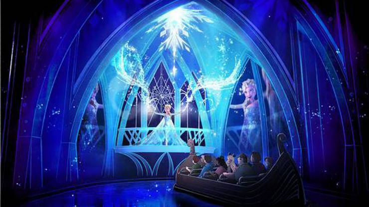 Here's a first look at Frozen: The Musical... and we're very excited