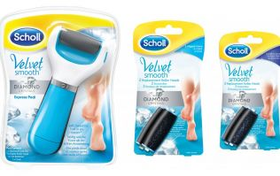 The Beauty Drop: Scholl Express Pedi with Diamond Crystals