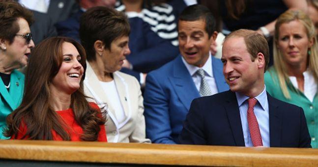 GALLERY: The Duke and Duchess of Cambridge at Wimbledon