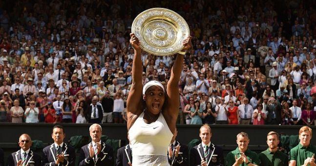 Serena Williams Wins Her Sixth Wimbledon Title