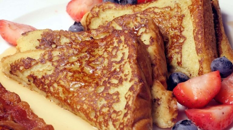This peanut butter french toast recipe is just what Saturday mornings were made for