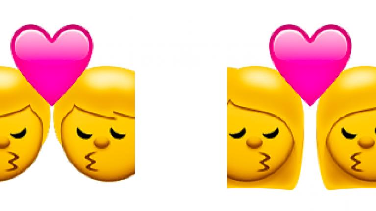 Finally, interracial couple emojis make their debut