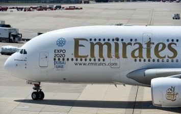 A woman is accusing Emirates of kicking her off a plane for having her period