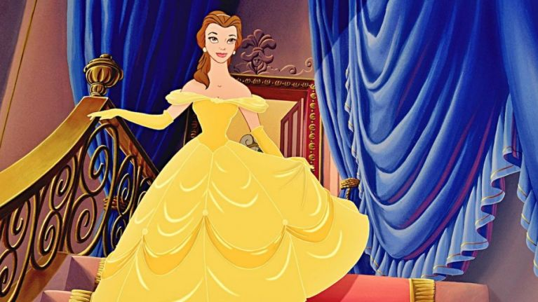 pic the first image of emma watson as belle has been released her ie