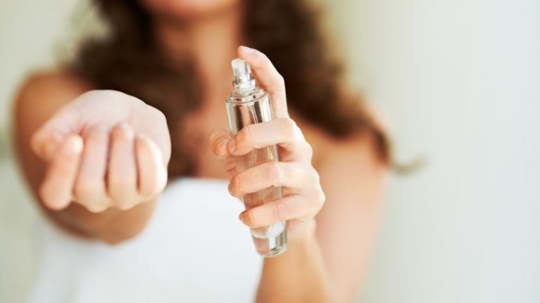 We just learned where you're ACTUALLY supposed to spray perfume and we're surprised