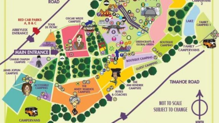 First Look - The Electric Picnic Sitemap Has Been Released