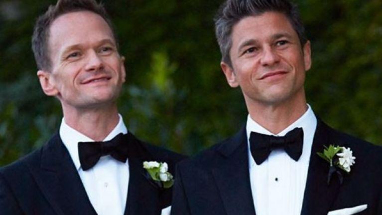 PICTURE: Neil Patrick Harris Posts Sweet Tribute To David Burtka On Wedding Anniversary