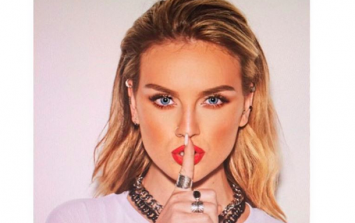 It looks very much like Perrie Edwards has just confirmed her new romance
