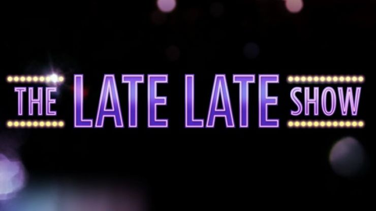 CONFIRMED: This Week's Late Late Show Line Up