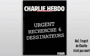 PICTURE: Defiant Charlie Hebdo Front Cover Circulates Online