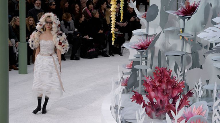 In Pictures: Chanel at Haute Couture Fashion Week is Blooming Marvellous