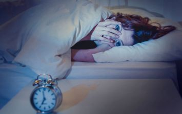 This quick 60 second trick can help to cure insomnia